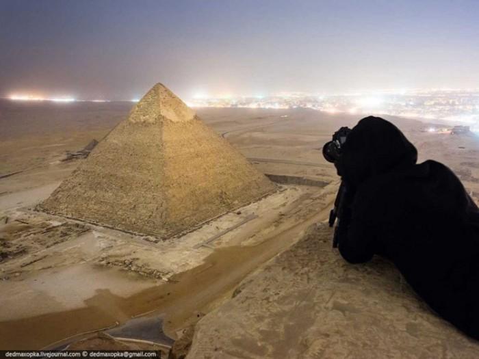 جاذبههای گردشگری مصر عکسهای غیرقانونی ولی خیرهکننده از جاذبههای گردشگری جهان عکسهای غیرقانونی ولی خیرهکننده از جاذبههای گردشگری جهان 1 Giza Egypt