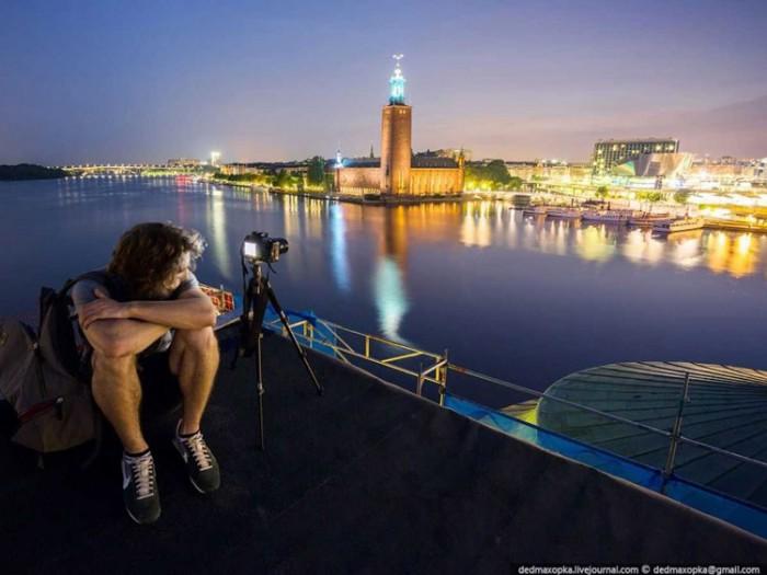 جاذبههای گردشگری سوئد عکسهای غیرقانونی ولی خیرهکننده از جاذبههای گردشگری جهان عکسهای غیرقانونی ولی خیرهکننده از جاذبههای گردشگری جهان 16 Stockholm City Hall