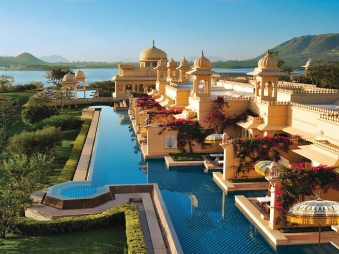 اوبرویی اوداویلاس هندوستان عکسهایی چشمنواز و زیبا که بیننده را به بازدید از هندوستان ترغیب میکنند عکسهایی چشمنواز و زیبا که بیننده را به بازدید از هندوستان ترغیب میکنند 27 oberoi udaivilas hote