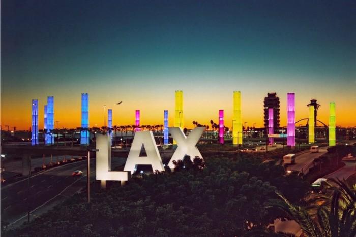 Los Angeles International Airport شلوغ ترین فرودگاههای جهان شلوغ ترین فرودگاههای جهان 5LAX airport