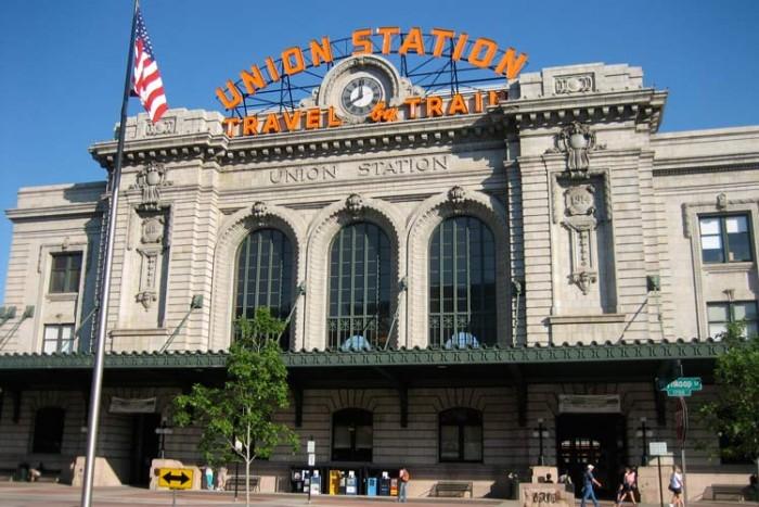 Denver_union_station ۱۰ ایستگاه قطار زیبای جهان ۱۰ ایستگاه قطار زیبای جهان Denver union station