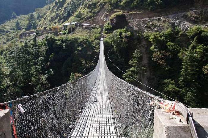 پل گاسا ۱۰ پل که عبور از آنها لرزه به اندامتان میاندازد ۱۰ پل که عبور از آنها لرزه به اندامتان میاندازد Ghasa Nepal