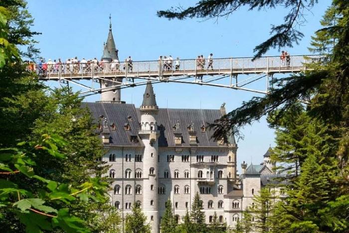 پل ۱۰ پل که عبور از آنها لرزه به اندامتان میاندازد ۱۰ پل که عبور از آنها لرزه به اندامتان میاندازد Marienbruecke bridge2