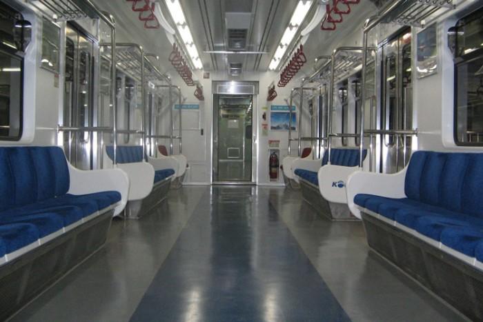 Seoul-Subway-01 بزرگترین شبکه های مترو جهان بزرگترین شبکه های مترو جهان Seoul Subway 01
