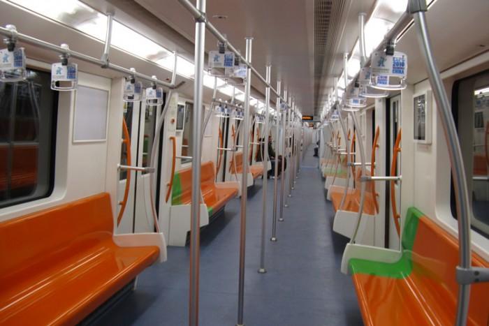 Train_Line7_Shanghai_Metro بزرگترین شبکه های مترو جهان بزرگترین شبکه های مترو جهان Train Line7 Shanghai Metro