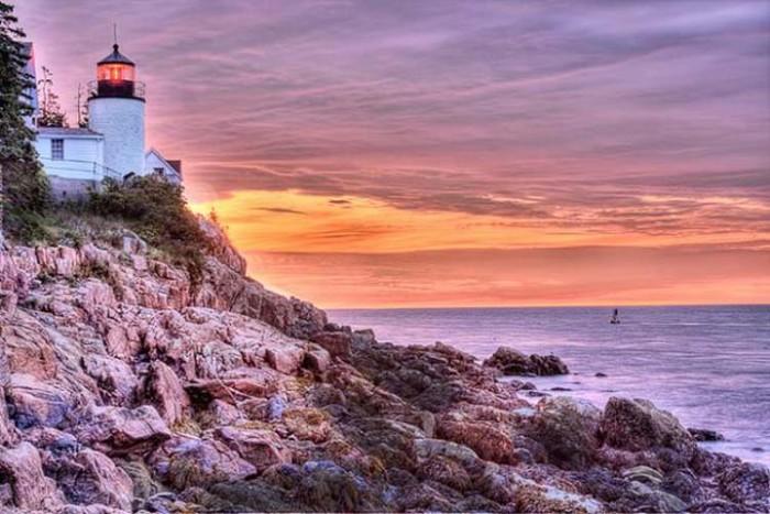 فانوس دریایی Maine ۱۰ فانوس دریایی زیبای جهان ۱۰ فانوس دریایی زیبای جهان bass harbor head station