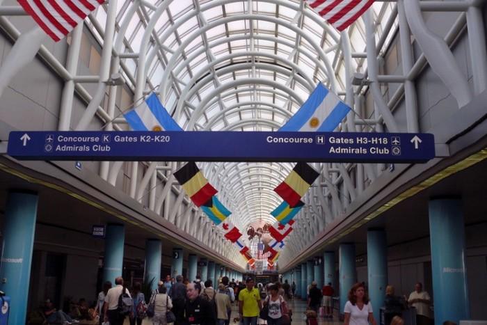 Chicago O'Hare International Airport شلوغ ترین فرودگاههای جهان شلوغ ترین فرودگاههای جهان chicago