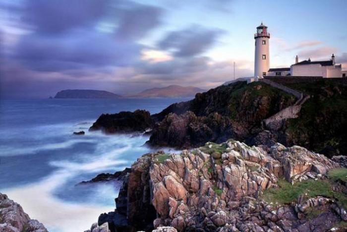 فانوس دریایی ایرلند ۱۰ فانوس دریایی زیبای جهان ۱۰ فانوس دریایی زیبای جهان fanad lighthouse