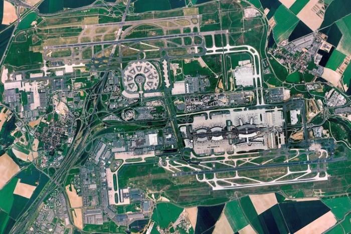 Charles de Gaulle Airport شلوغ ترین فرودگاههای جهان شلوغ ترین فرودگاههای جهان france roissy cdg plan masse fr