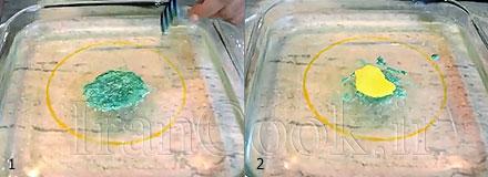 ژله گلدار آموزش ژله تزریقی مدل گل آفتابگردان آموزش ژله تزریقی مدل گل آفتابگردان jello tazrighi model aftabgardoon 11