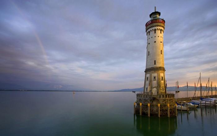 فانوس دریایی آلمان ۱۰ فانوس دریایی زیبای جهان ۱۰ فانوس دریایی زیبای جهان lindau lighthouse