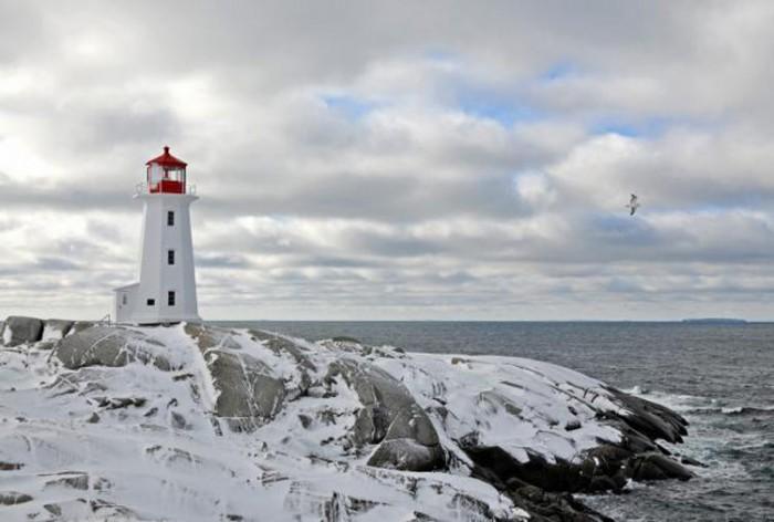 فانوس دریایی کانادا ۱۰ فانوس دریایی زیبای جهان ۱۰ فانوس دریایی زیبای جهان peggys point lighthouse