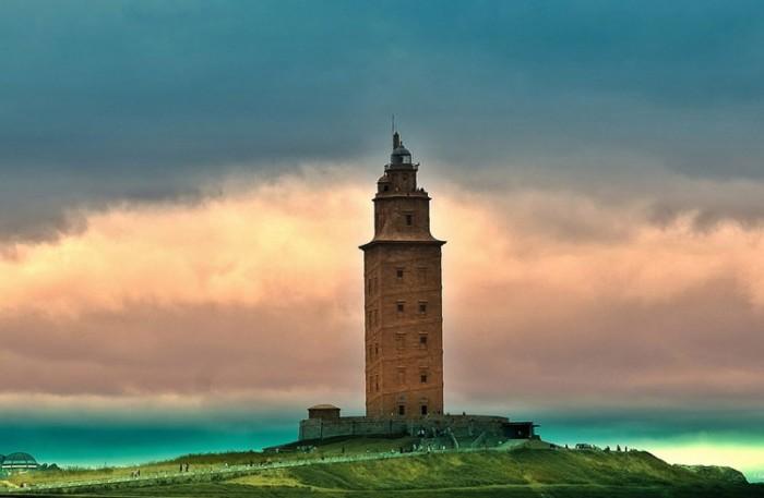 فانوس دریایی آلمان ۱۰ فانوس دریایی زیبای جهان ۱۰ فانوس دریایی زیبای جهان tower of hercules