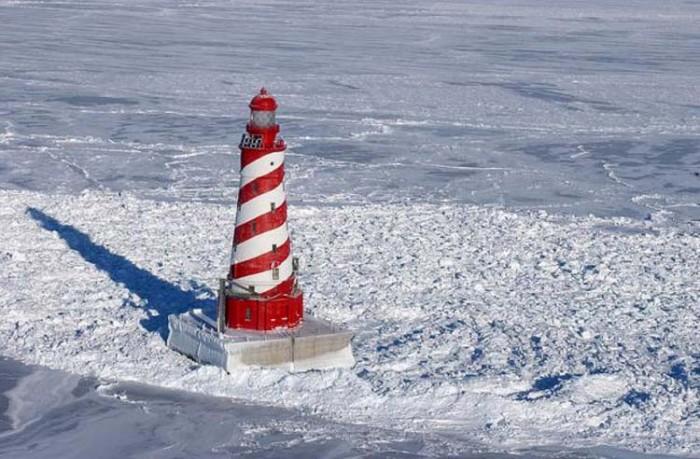 فانوس دریایی میشیگان ۱۰ فانوس دریایی زیبای جهان ۱۰ فانوس دریایی زیبای جهان white shoal light