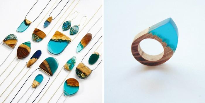 wood-jewelry-resin-boldb-britta-boeckmann-111 تبدیل چوب های قدیمی به جواهرات زیبا تبدیل چوب های قدیمی به جواهرات زیبا wood jewelry resin boldb britta boeckmann 111
