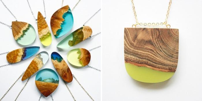 wood-jewelry-resin-boldb-britta-boeckmann-12 تبدیل چوب های قدیمی به جواهرات زیبا تبدیل چوب های قدیمی به جواهرات زیبا wood jewelry resin boldb britta boeckmann 12