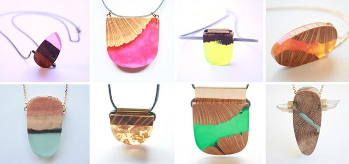 wood-jewelry-resin-boldb-britta-boeckmann-22 تبدیل چوب های قدیمی به جواهرات زیبا تبدیل چوب های قدیمی به جواهرات زیبا wood jewelry resin boldb britta boeckmann 22