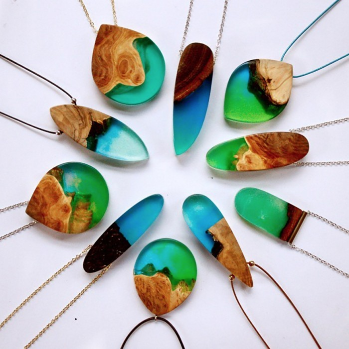 wood-jewelry-resin-boldb-britta-boeckmann-25 تبدیل چوب های قدیمی به جواهرات زیبا تبدیل چوب های قدیمی به جواهرات زیبا wood jewelry resin boldb britta boeckmann 25