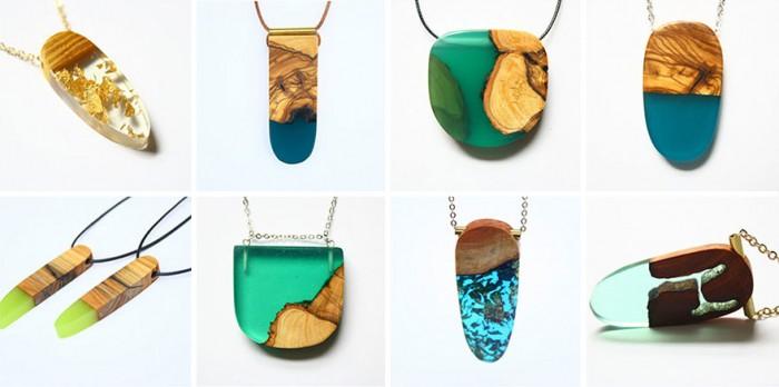 wood-jewelry-resin-boldb-britta-boeckmann-32 تبدیل چوب های قدیمی به جواهرات زیبا تبدیل چوب های قدیمی به جواهرات زیبا wood jewelry resin boldb britta boeckmann 32